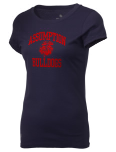 Assumption - St. Bridget Bulldogs Holloway Women's Groove T-Shirt