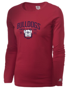 Assumption - St. Bridget Bulldogs  Russell Women's Long Sleeve Campus T-Shirt