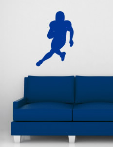 "Sheldon Christian School Meteors Wall Silhouette Decal 20"" x 32"""