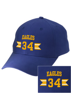 Morningside Christian School Eagles Embroidered Low-Profile Cap