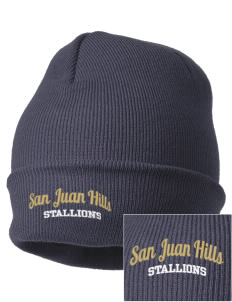 San Juan Hills High School Stallions Embroidered Knit Cap