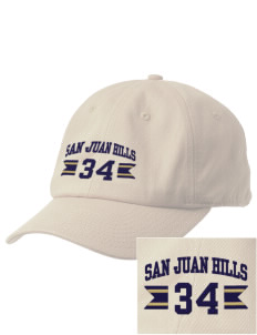 San Juan Hills High School Stallions Embroidered Champion 6-Panel Cap