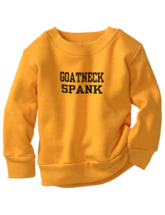 Goatneck High School Spank Toddler Crewneck Sweatshirt