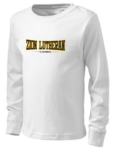 Zion Lutheran School Lions  Kid's Long Sleeve T-Shirt