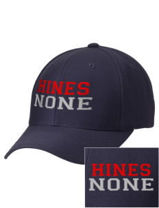 Hines none Embroidered Wool Adjustable Cap