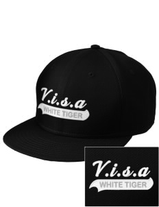 V.I.S.A White Tiger  Embroidered New Era Flat Bill Snapback Cap