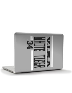 "V.I.S.A White Tiger Apple MacBook Pro 15"" & PowerBook 15"" Skin"