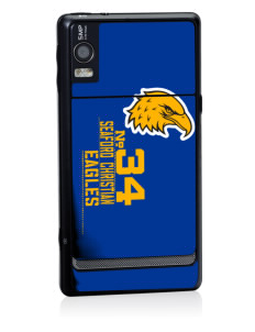 Seaford Christian Academy Eagles Motorola Droid 2 Skin