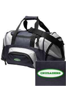 Watson Groen Christian School Crusaders Embroidered Small Colorblock Duffel