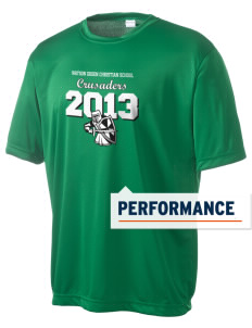 Watson Groen Christian School Crusaders Men's Competitor Performance T-Shirt