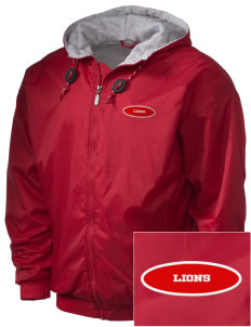 North Seattle Christian School Lions Embroidered Holloway Men's Hooded Jacket