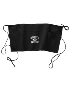 Cedar River School Raccoons Waist Apron with Pockets