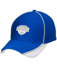 Cedar River School Raccoons Embroidered New Era Contrast Piped Performance Cap