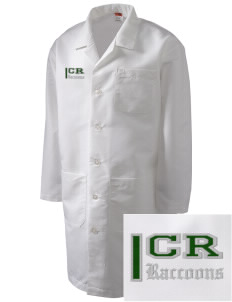 Cedar River School Raccoons Full-Length Lab Coat