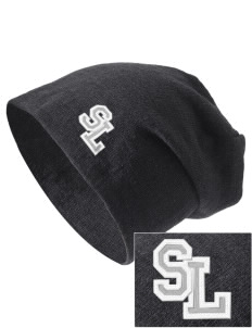 Seattle Lutheran High School Saints Embroidered Slouch Beanie
