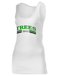 Islamic School Of Seattle Trees Juniors' 1x1 Tank