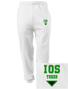 Islamic School Of Seattle Trees Embroidered Men's Sweatpants with Pockets