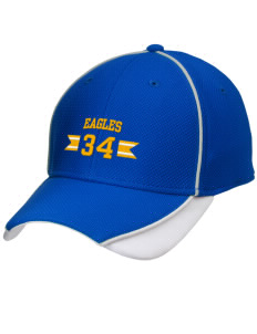Fairview Christian School Eagles Embroidered New Era Contrast Piped Performance Cap