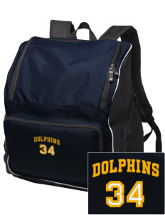 Soundview Private School Dolphins Embroidered Holloway Backpack