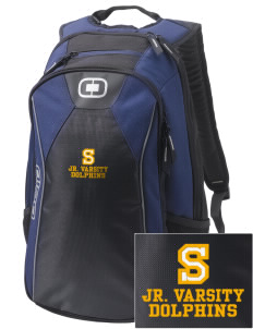 Soundview Private School Dolphins Embroidered OGIO Marshall Backpack