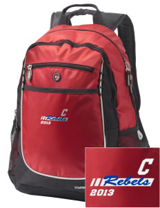 Claiborne Academy Rebels Embroidered OGIO Carbon Backpack