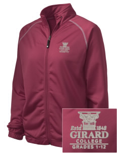Girard College Cavaliers Embroidered Holloway Women's Attitude Warmup Jacket