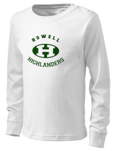 Howell High School Highlanders  Kid's Long Sleeve T-Shirt