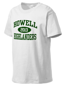 Howell High School Highlanders Kid's Lightweight T-Shirt