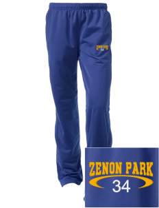 Zenon Park School  Embroidered Women's Tricot Track Pants