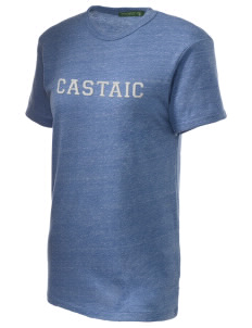 Castaic Elementary School Cub Embroidered Alternative Unisex Eco Heather T-Shirt