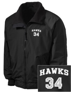 Hollywood Elementary School Hawks Embroidered Tall Men's Challenger Jacket