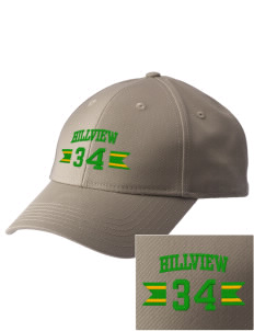 Hillview Elementary School Hawks  Embroidered New Era Adjustable Structured Cap