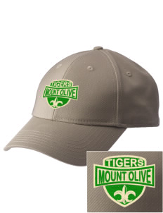 Mount Olive Elementary School Tigers  Embroidered New Era Adjustable Structured Cap