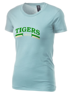 Mount Olive Elementary School Tigers Alternative Women's Basic Crew T-Shirt