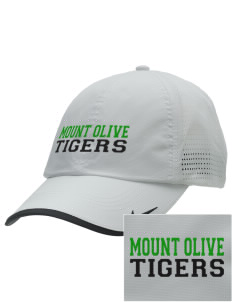 Mount Olive Elementary School Tigers Embroidered Nike Dri-FIT Swoosh Perforated Cap