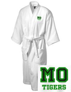 Mount Olive Elementary School Tigers Embroidered Terry Velour Robe