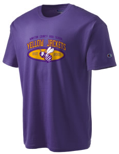 Winston County High School Yellow Jackets Champion Men's Tagless T-Shirt