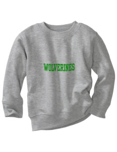 Willow Elementary School Wolverines Toddler Crewneck Sweatshirt