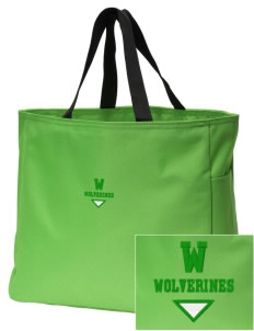 Willow Elementary School Wolverines Embroidered Essential Tote