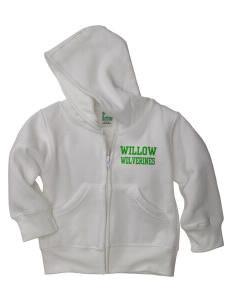 Willow Elementary School Wolverines Baby Full Zip Hoodie