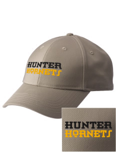 Hunter Elementary School Hornets  Embroidered New Era Adjustable Structured Cap