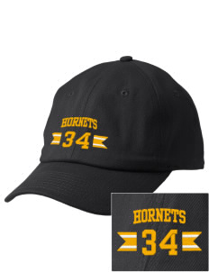Hunter Elementary School Hornets Embroidered Champion 6-Panel Cap