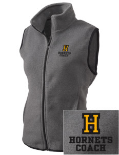 Hunter Elementary School Hornets Embroidered Women's Fleece Vest