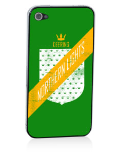 Deering School Northern Lights Apple iPhone 4/4S Skin