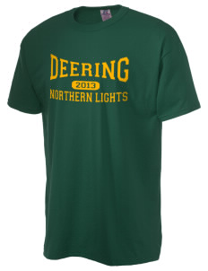 Deering School Northern Lights  Russell Men's NuBlend T-Shirt