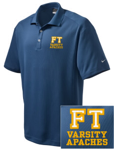 Fort Thomas Elementary School Apaches Embroidered Nike Men's Dri-Fit Classic Polo