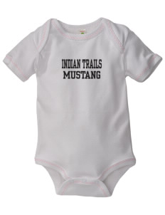 Indian Trails Middle School Mustang Baby Zig-Zag Creeper