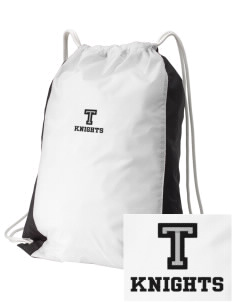 Tenino Middle School Knights Embroidered Holloway Home and Away Cinch Bag