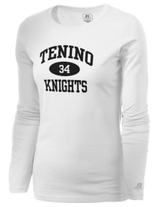 Tenino Middle School Knights  Russell Women's Long Sleeve Campus T-Shirt