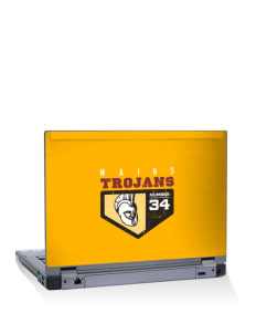 "Mains Elementary School Trojans 10"" Laptop Skin"